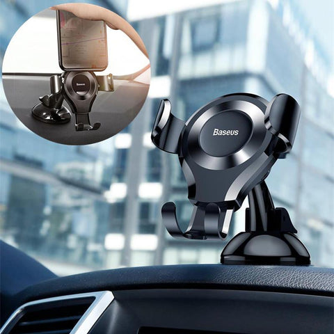 Baseus Suction-Based Gravity-Powered Car Phone Mount