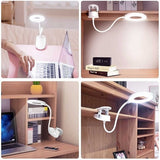 SunLamp™ 2 in 1 Portable Dimmable Clip Led Lamp (Rechargeable)