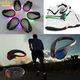 LED Safety Running Shoe Clips (2pcs)