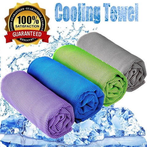 Self Cooling Towel For Outdoors & Sports ***2pcs***
