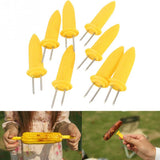 BBQ 8 PCS Stainless Steel Corn Holders