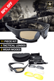 X7 Ballistic Army Polarized  Sunglasses