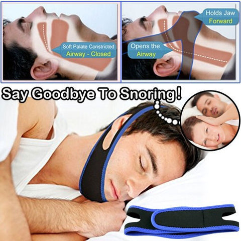 BEQUIET- Anti Snore Chin Strap