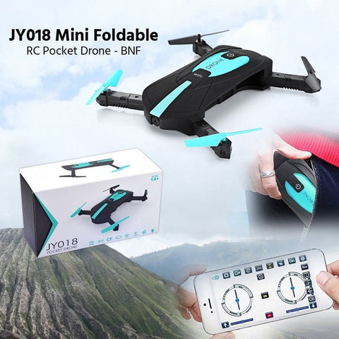 Foldable RC Pocket-size Selfie Drone (FREE SHIPPING)