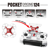 Mini Pocket Drone With Controller