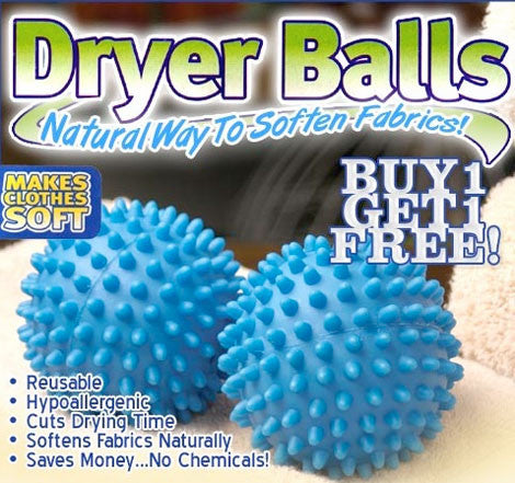 Laundry Dryer Balls (PACK OF 2)