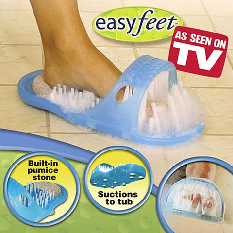 EasyFeet - Shower Feet Cleaner & Massager