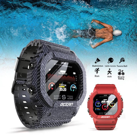 Ocean™ Heavy Duty Smart Sports Watch For Android & iOS