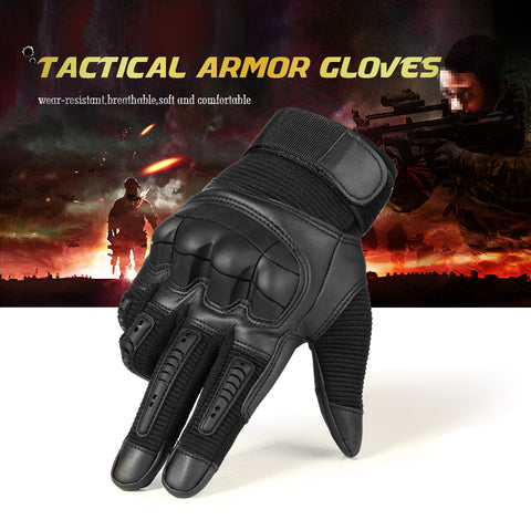 Indestructible Tactical Touchscreen Gloves - Indigo-Temple