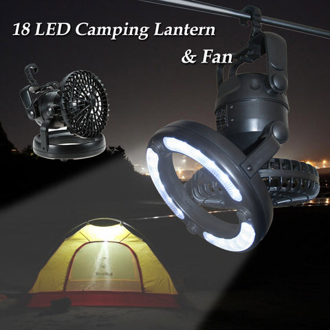 The Campout™ 18 LED Lantern & Fan