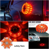 2 X Magnetic LED Emergency Safety Flares (2 pcs)
