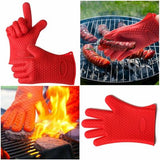 Heat Resistant Silicone BBQ Glove
