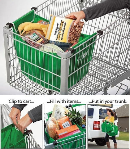 GraBag - The Ultimate Grocery Bag (2 PCS)