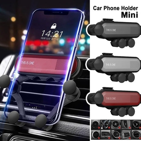 Grip-Master™ New Generation Gravity Car Phone Mount