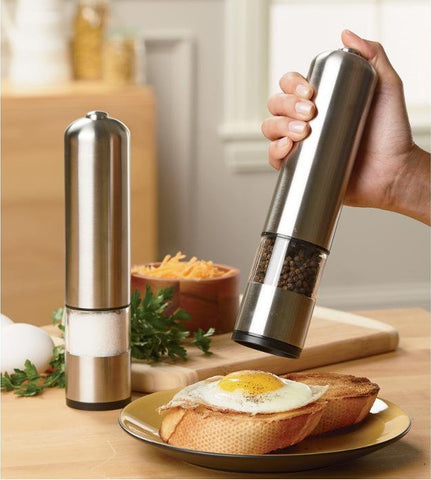 QuickGrind™ Electric Salt/Herbs Mill Grinder