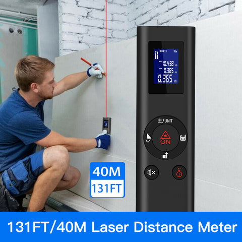 LaserPrecision™ Digital Measuring Laser (USB Rechargeable)