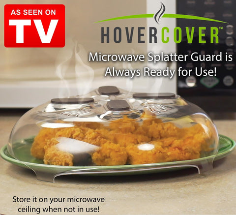 """Hover-Cover"" Microwave  Splatter Guard"