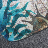 Marine Animals Anti-Slip Floor Mat Carpet