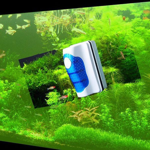 Magnetic Aquarium Glass Cleaner - Indigo-Temple