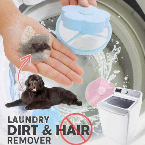 Floating Laundry Fur and Lint Filter (2 pcs )