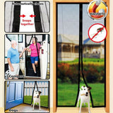 Magic Magnetic Mesh Screen Door