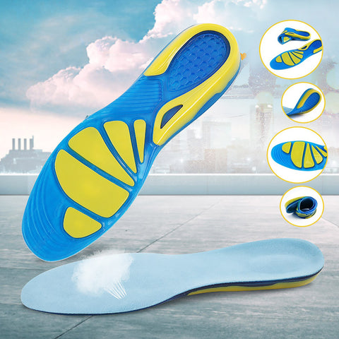 Professional Silicon Gel Shock Absorption insole