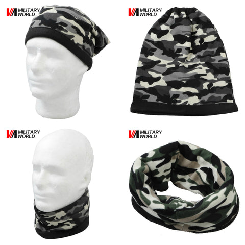 2-In-1 Tactical Winter Fleece Hat/Scarf