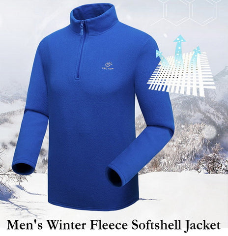 Men's Winter Fleece Softshell Jacket