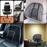 2 in 1 Car Seat And Office Chair Mesh Lumbar Back Support