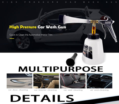 High Pressure Foam Car Interior Cleaner
