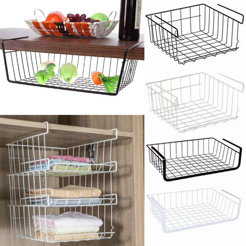 Easy-Hang Organizing Wire Storage Basket