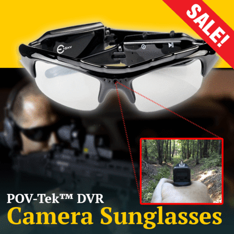 POV-Tek™ TACTICAL CAMERA SUNGLASSES
