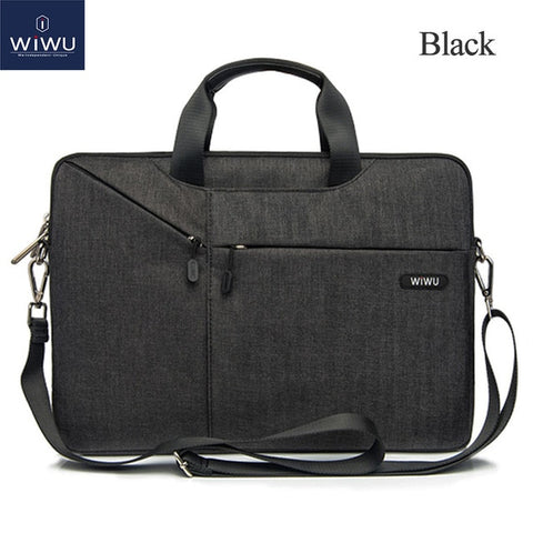 WiWU™ Waterproof Nylon Laptop Bag - Indigo-Temple