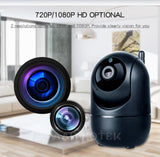 SecureTech™ 1080P Full HD  Wireless IP (Wifi ) Camera - Indigo-Temple