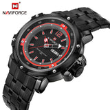 Stainless Steel Military Wrist watch (4 colors)