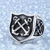 Nell - Anchor Ring For Man - Indigo-Temple