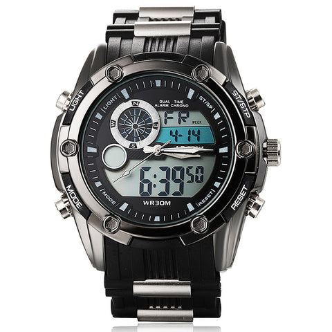 Steel Dial Military WristWatch (3 colors)