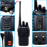 2pcs Portable Walkie Hf Transceiver