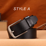 DWTS Luxury Genuine Leather Belt For Men