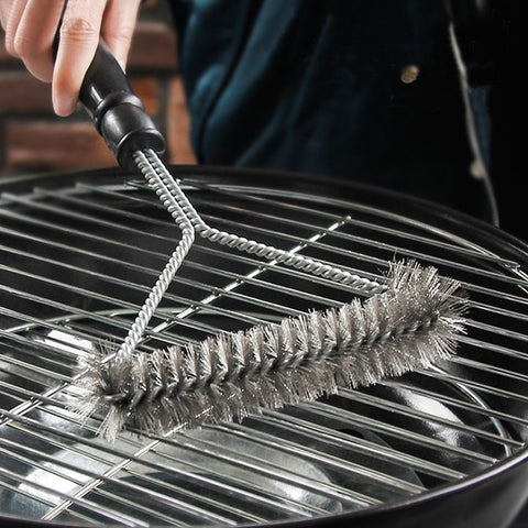Barbecue Stainless Steel Grill Cleaning Brush