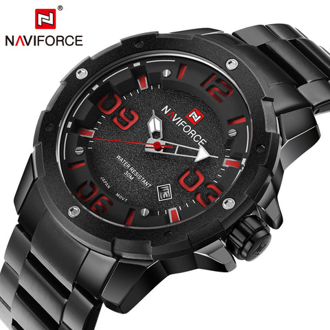 G309 STAINLESS STEEL ARMY WATCH (4 COLORS)