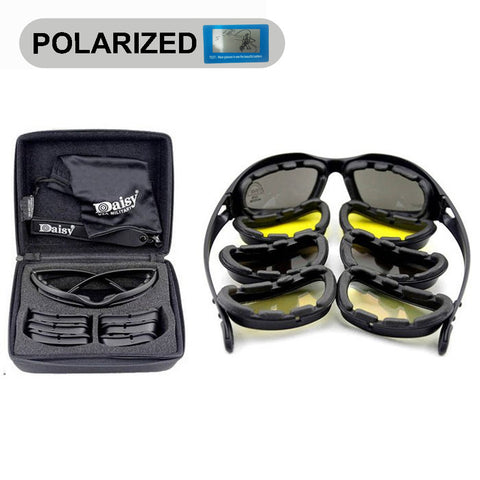 Daisy C5 Polarized Army\Shooting Goggles - 4 Lens Kit