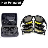 Daisy C5 Polarized Army\Shooting Goggles - 4 Lens Kit - Indigo-Temple