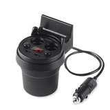 Cup Style Car Charger USB Car Charger & Dual Cigarette Lighter