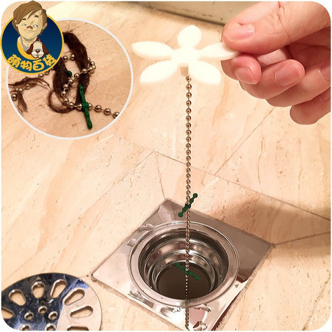 ANTI-CLOG DRAIN HAIR CATCHER