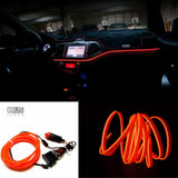 Neon Light Line + 12V Cigarette lighter Drive