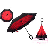 UPSIDE DOWN ANTI-DRIP UMBRELLA