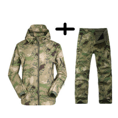 Tactical  Soft Shell Waterproof Winter Set ( 8 colors)
