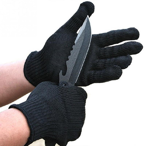 Cut-Resistant Protective Gloves - Indigo-Temple