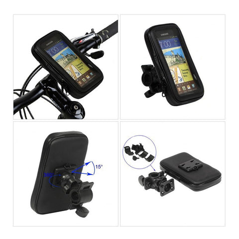Motorcycle / Bicycle Waterproof 5.5 inch Phone Holder